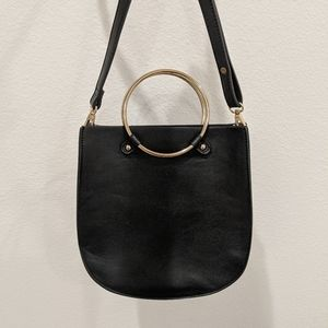 F21 leather crossbody bag
